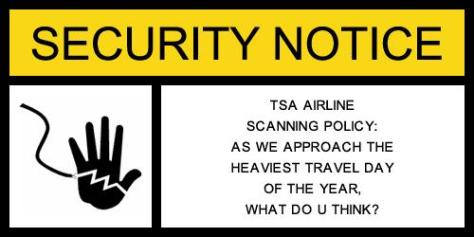 New TSA Policy