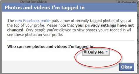 Facebook Privacy Settings Photos & Videos