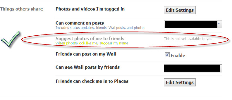 how to change privacy settings for photos in facebook