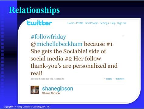 Tweet from Shane Gibson