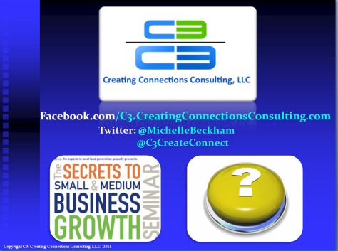 Michelle Beckham-Corbin with C3: Creating Connections Consulting, LLC