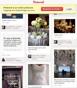 Example of a Public Pinterest Board