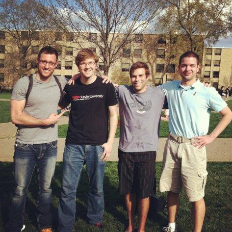 Student Leadership Team for TEDxXavierUniversity- 2012