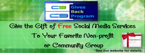 Free Social Media Marketing Services via C3. Creating Connections Consulting, LLC